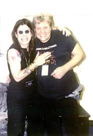 Ozzy Osbourne working with Producer Engineer Michael Wagener