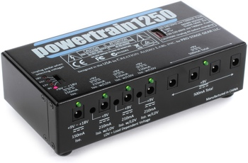 powertrain1250 pedal power supply