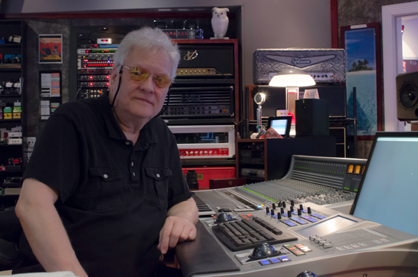 Michael Wagener at WireWorld Studio near Nashville, TN