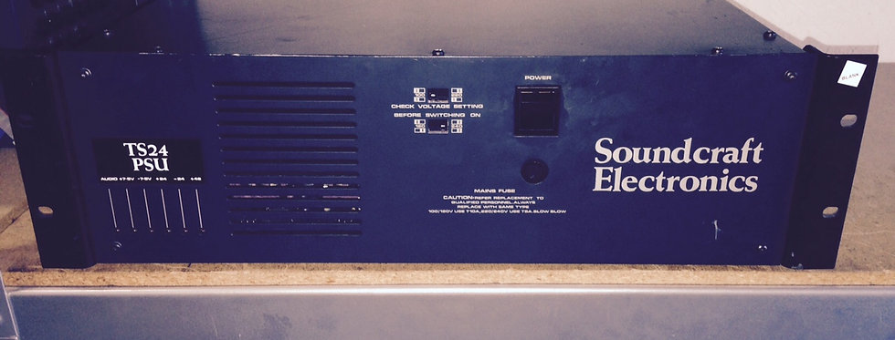 Soundcraft TS24 Power Supply