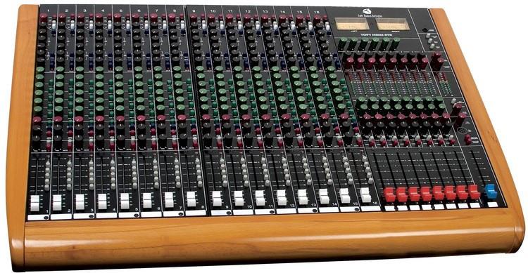 Toft's ATB 24 Analog Audio Mixer