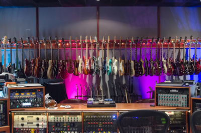 Wire World Studios guitar vault