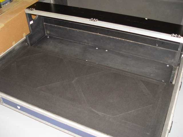 Console road case after