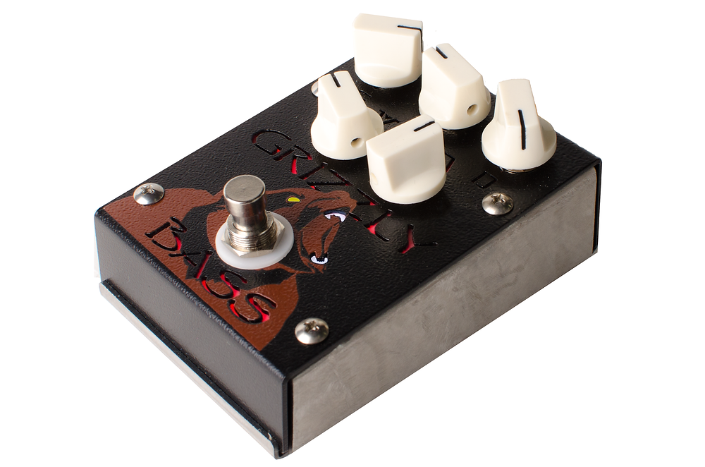 Grizzly Bass Overdrive Distortion Pedal