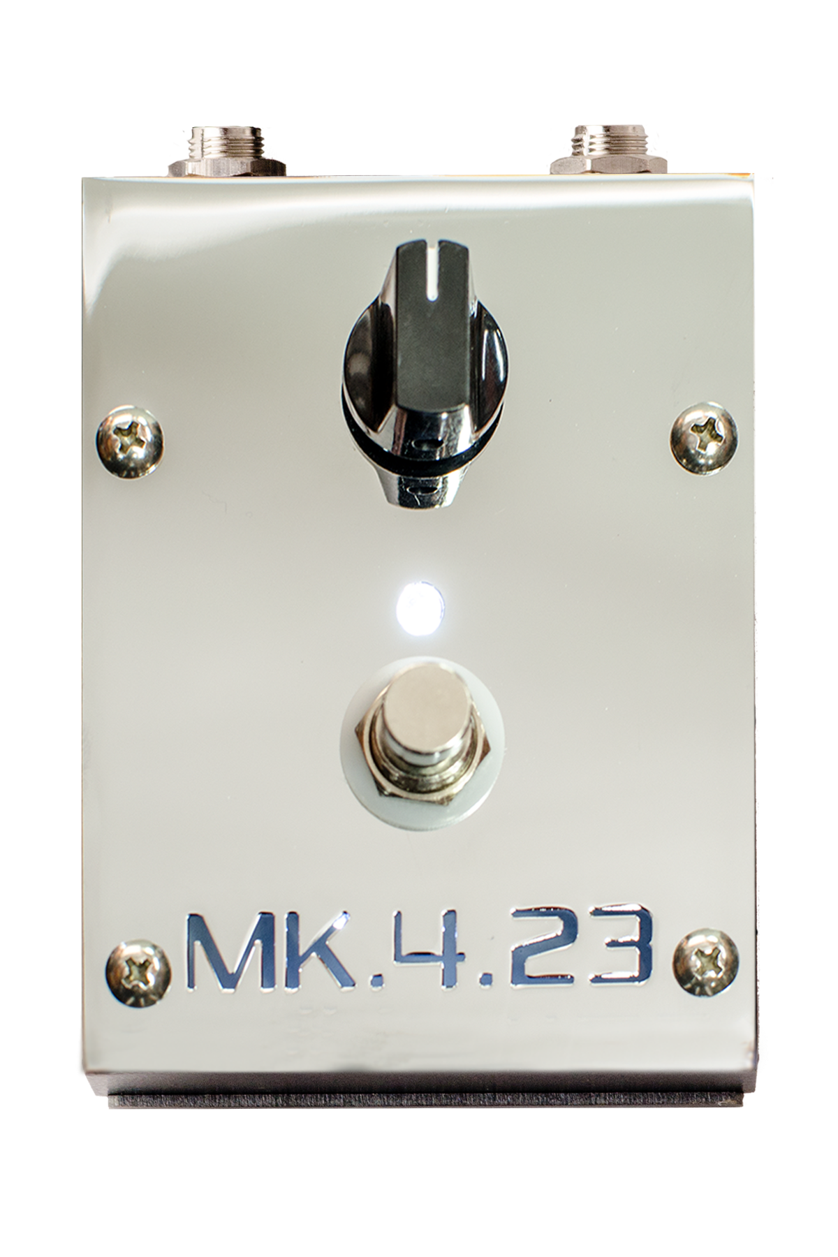 MK.4.23 Chrome - boost pedal front
