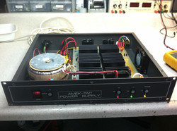 Power supply rebuiltand tested