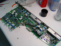 Console modules stripped down