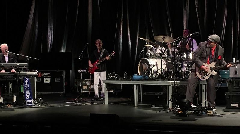 Teddy Kumpel with Joe Jackson in Nashville, TN.
