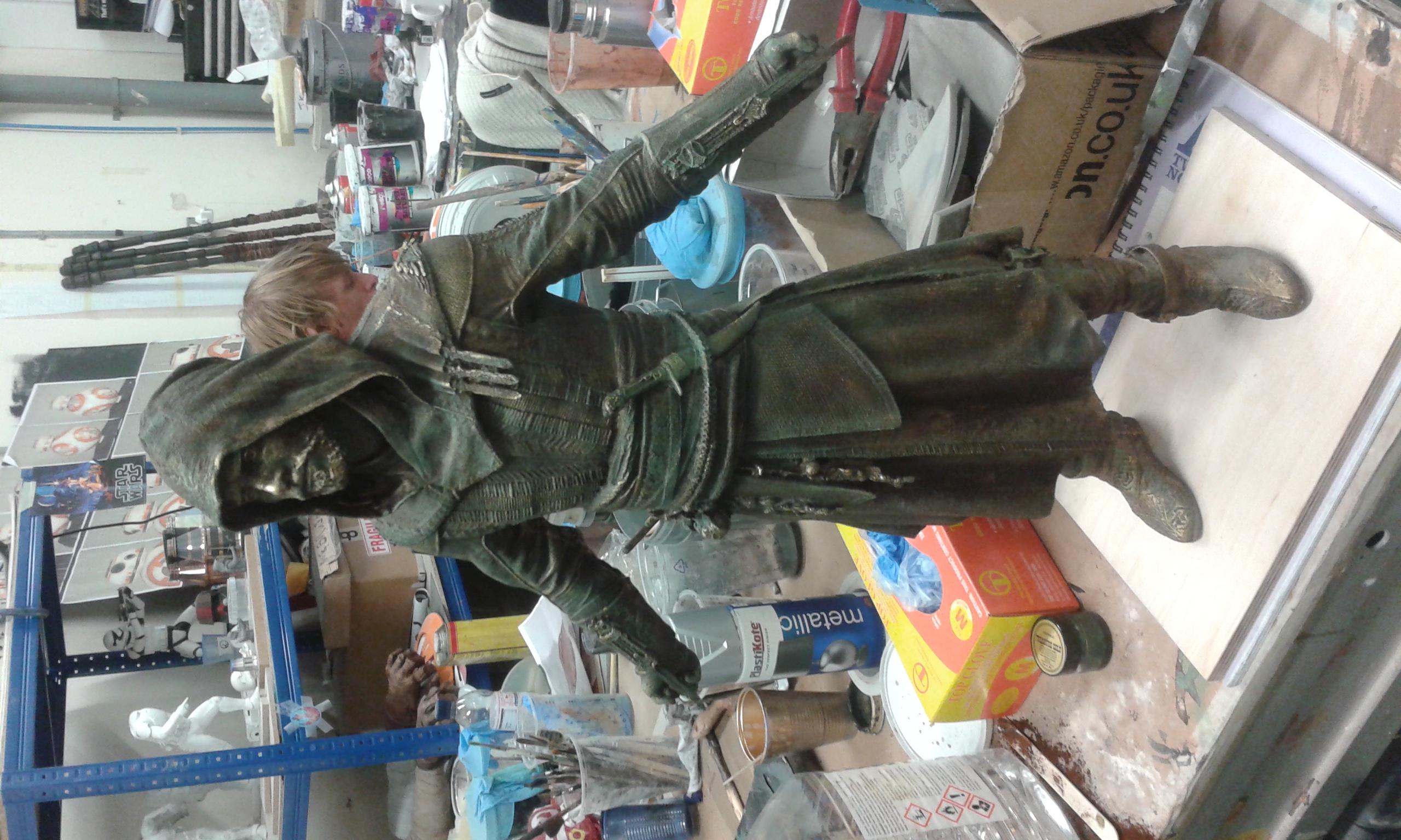 3D printed Michael fassbender