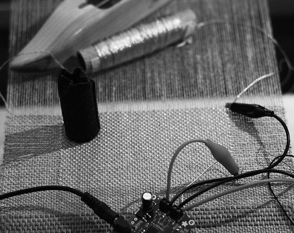 Test hautparleur tissé / testing woven speaker