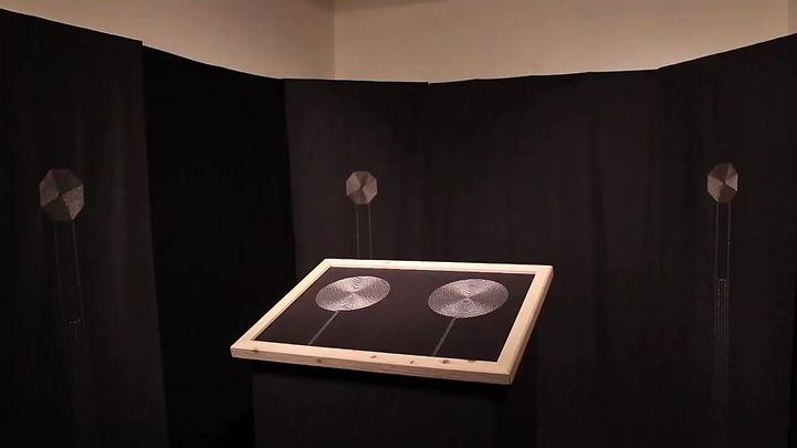 Instalation Textile Sonores / Sonic Textiles