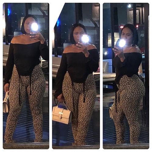 Leopard Sheer Stacks