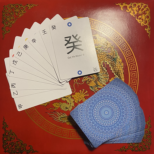 Ba Zi Card Game - Heavenly Stems - 60 Cards