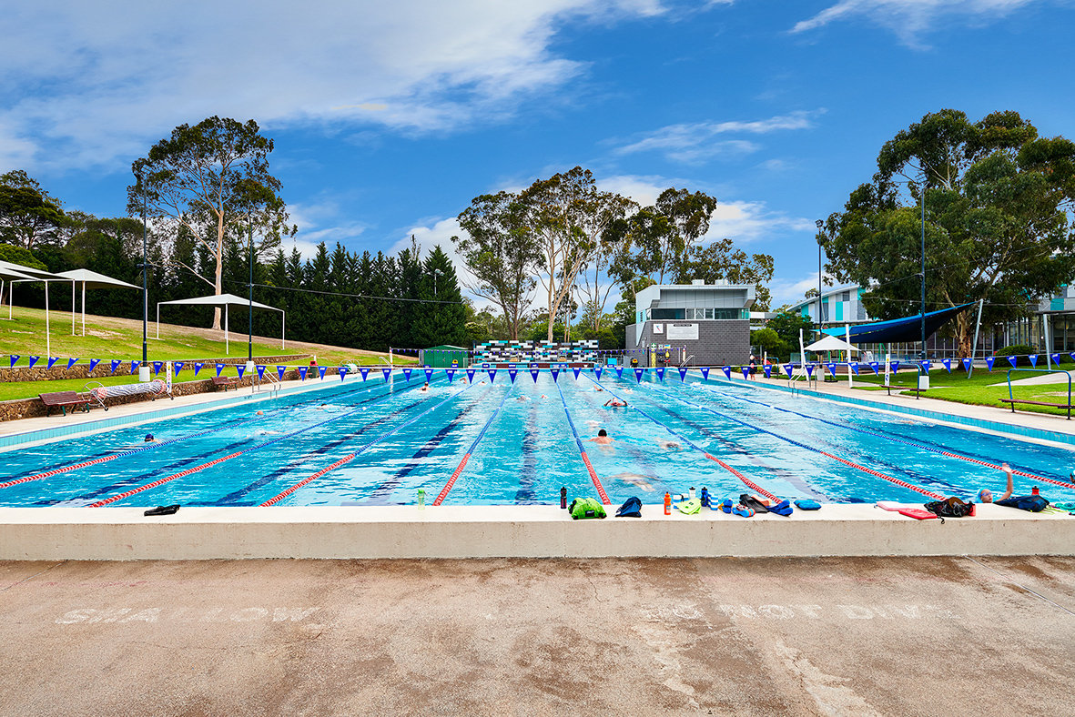 50m Outdoor Pool