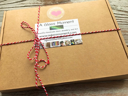 Floral and Tree Gift Box