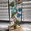 Thumbnail: Wildflower Free-standing Glass Light-catcher - Pinks and Blues