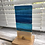 """Thumbnail: """"By the ocean"""" Freestanding Fused Glass Light Catcher"""