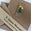 Thumbnail: Fused Glass Daffodils card and envelope