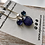 Thumbnail: Royal Purple fused glass earrings and pendant