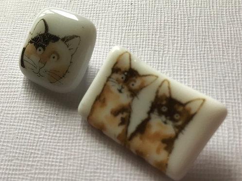 Cat Badges/Brooches