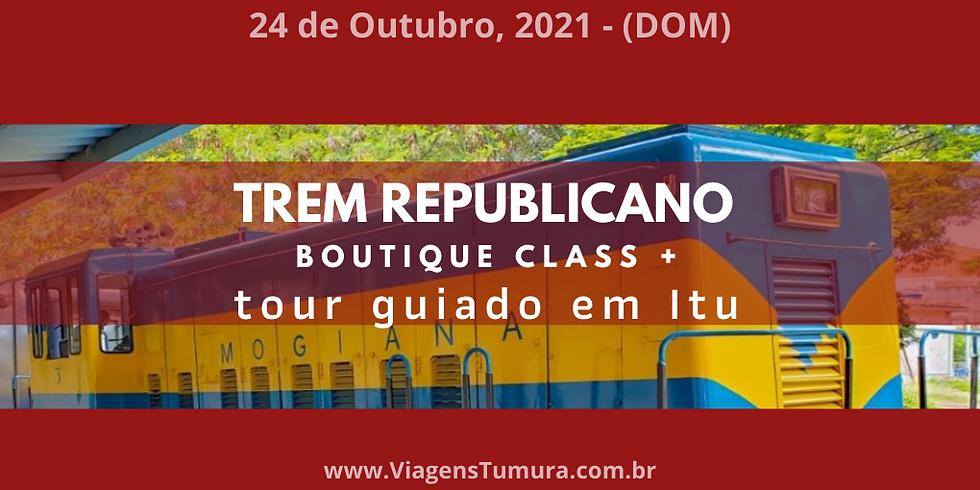 Trem Republicano Itu-Salto - 24 Oct 2021