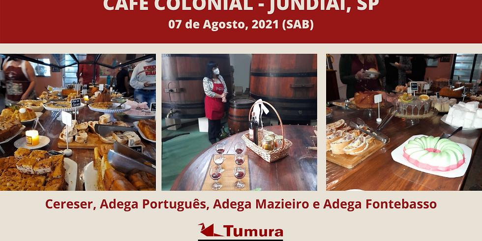 Café Colonial em Jundiaí, SP