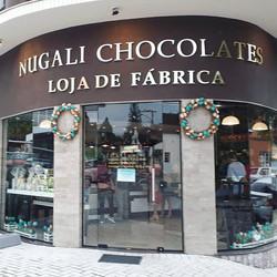 Nossa visita à loja Nugali Chocolates em Pomerode