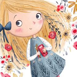 Doodle girl