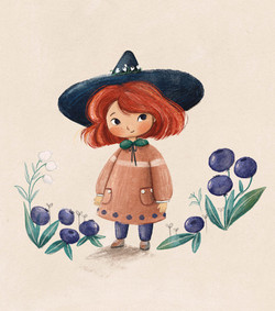 Blueberry Witch