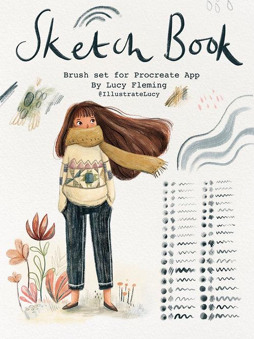 Sketch Book - Procreate Brush Pack