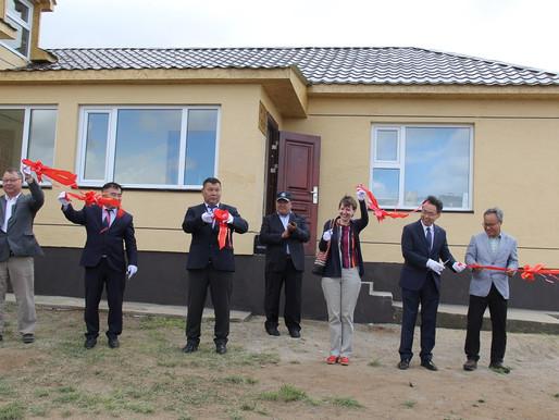 """Монгол ногоо төслөөс """"хүлэмжийн технологи нэвтрүүлэх төв""""-ийг байгууллаа"""