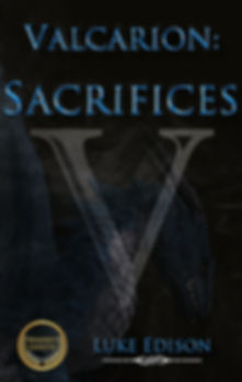 2019 Young Adult Fanasy Book Cover for Valarion Sacrifices