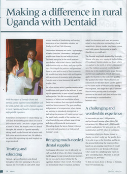 London Hygienist in BSDHT Magazine