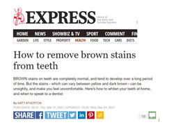 London Hygienist in The Express