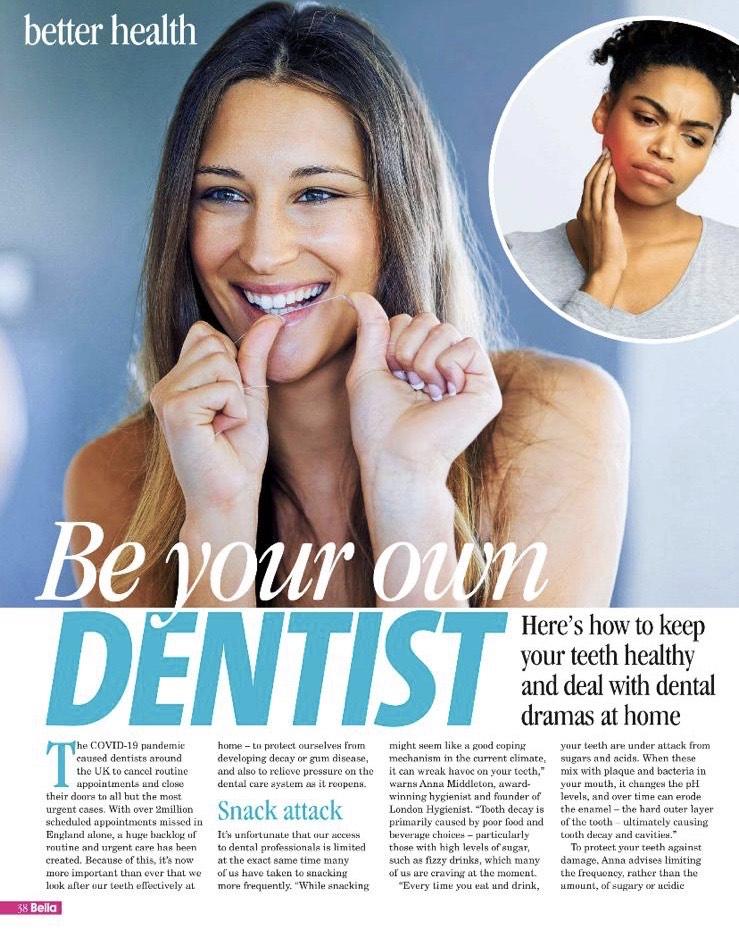 Anna Middleton in Bella Magazine