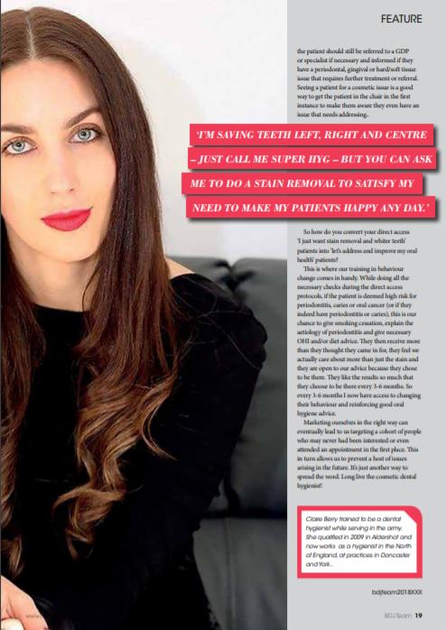 British Dental Journal - October 2018