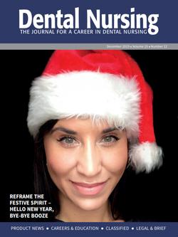 Cover Dental Nursing Magazine