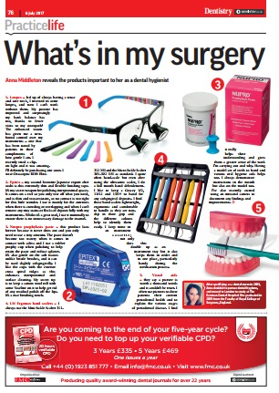 London Hygienist in Dentistry Mag