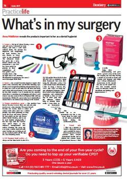 London Hygienist in Dentistry Mag