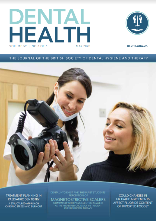 Dental Health Magazine Cover May 2020