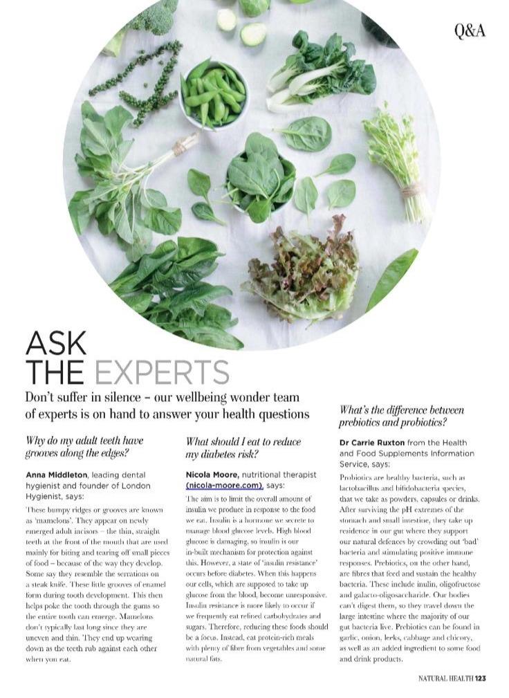 Anna Middleton Natural Health Mag