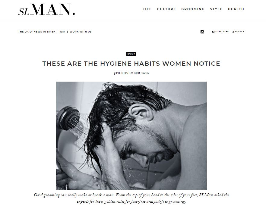 London Hygienist in SL Man
