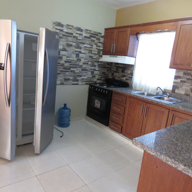 2 bedroom unit kitchen