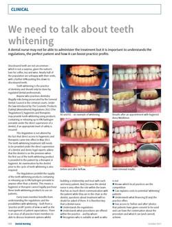 Dental Nursing Mag London Hygienist