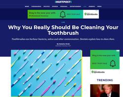 London Hygienist in Huffington Post