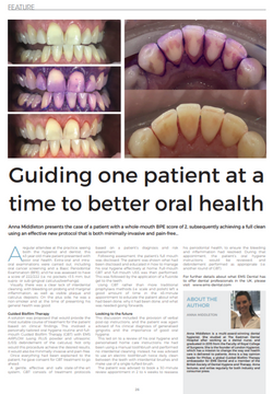 London Hygienist in Smile Mag
