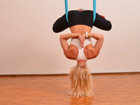 Some reasons why aerial yoga is good for your health