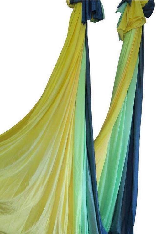 Ombre Aerial Hammock Sárga-Zöld