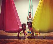 Mozgásfejlesztő air yoga gyerekeknek