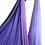Thumbnail: Ombre Aerial Hammock Lila-Fehér